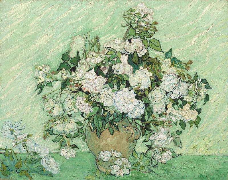 Roses-Vincent-van-Gogh